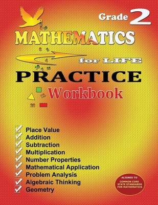 Mathematics for Life Practice Workbook - Grade 2 (Paperback): Evelyn Vicario