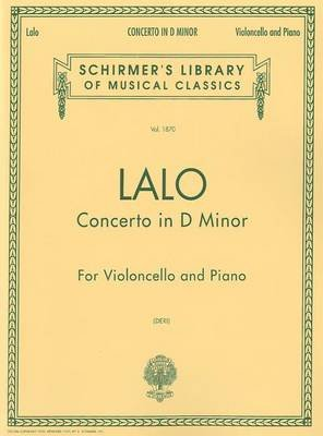 Concerto in D Minor - Score and Parts (Paperback): Lalo Edouard