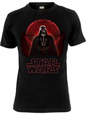 Star Wars: T -Shirt - Darth Vader & Death Star (X-Large ):