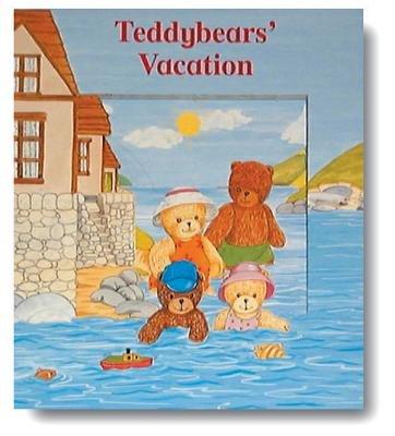 Teddybears' Vacation (Board book): Dorothea King