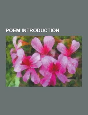 Poem Introduction - Hymn to Proserpine, Anceps, Andrea del Sarto, the Revolt of Islam, Iwein, Sea Surface Full of Clouds, Der...