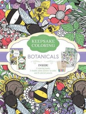 Botanicals Keepsake Coloring Tin (Paperback): Parragon Books Ltd
