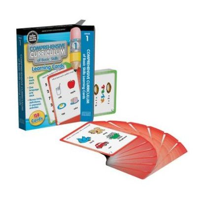 Comprehensive Curriculum of Basic Skills Learning Cards, Grade 1 (Cards): American Education Publishing, Carson Dellosa...