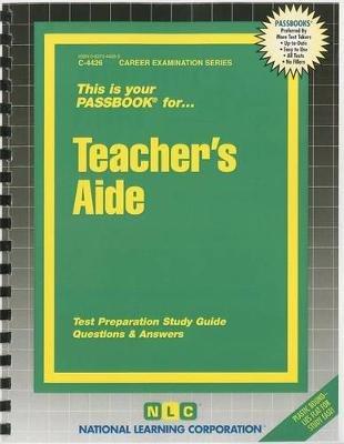 Teacher's Aide (Spiral bound): Jack Rudman