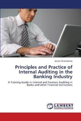Principles and Practice of Internal Auditing in the Banking Industry (Paperback): Orumwense Jones