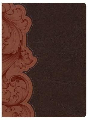 Study Bible-KJV (Leather / fine binding): Holman Bible Staff