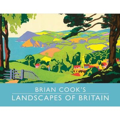 Brian Cook's Landscapes of Britain - a guide to Britain in beautiful book illustration, mini edition (Hardcover, Mini...