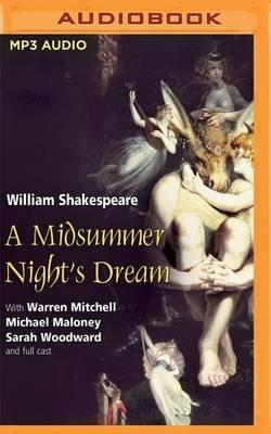 A Midsummer Night's Dream (MP3 format, CD): William Shakespeare