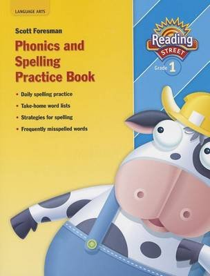 Reading 2007 Spelling Practice Book Grade 1 (Paperback): Pearson