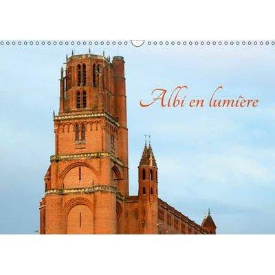 Albi En Lumiere 2017 - La Ville D'albi (French, Calendar, 2nd edition): Patrice THEBAULT
