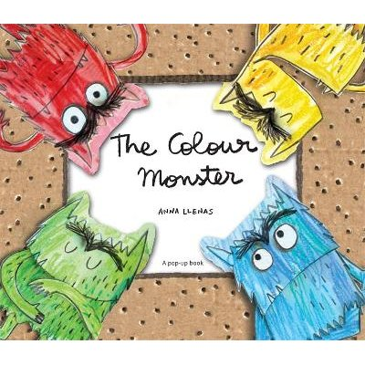 The Colour Monster Pop-Up (Hardcover): Anna Llenas