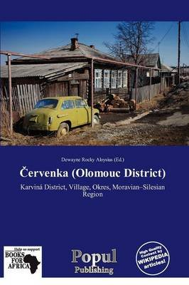 Ervenka (Olomouc District) (Paperback): Dewayne Rocky Aloysius