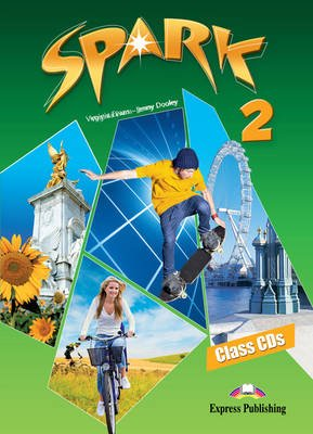Spark, Level 2 - Class CDs (set of 3) (international) (CD-ROM): Virginia Evans, Jenny Dooley