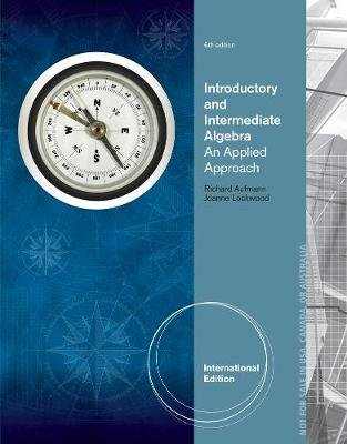 Introductory and Intermediate Algebra - An Applied Approach, International Edition (Paperback, 6th edition): Joanne Lockwood,...