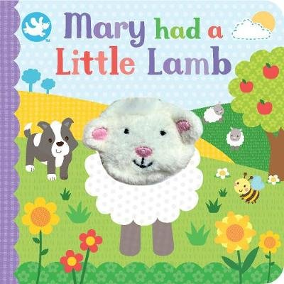 Little Me Mary Had a Little Lamb Finger Puppet Book (Board book): Parragon Books Ltd