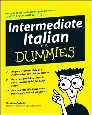 Intermediate Italian for Dummies (Electronic book text): Daniela Gobetti
