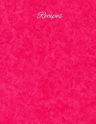 Recipes - Cotton Candy (Paperback): Wm Journals