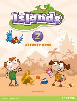 Islands Level 2 Activity Book Plus Pin Code (Paperback): Susannah Malpas