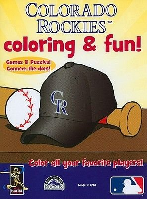Colorado Rockies Coloring and Fun (Paperback): Scott Waddell