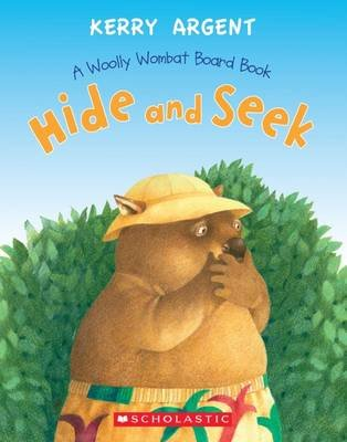Hide and Seek - One Woolly Wombat (Board book): Kerry Argent
