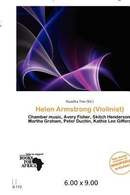 Helen Armstrong (Violinist) (Paperback): Nuadha Trev