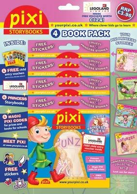 Pixi Storybooks: Princess Pack - 4 Mini Pixi Books with Stickers (Paperback):