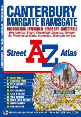 Canterbury Street Atlas (Paperback): Geographers' A-Z Map Company