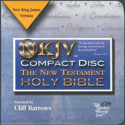 New Testament with Psalms and Proverbs-NKJV (Standard format, CD): Cliff Barrows