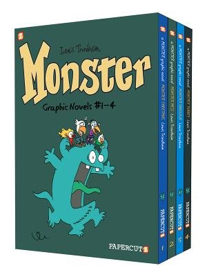 Monster Graphic Novels - Boxed Set: Vol. #1-4 (Paperback): Lewis Trondheim