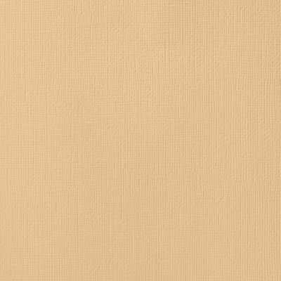 American Crafts Textured Cardstock - Latte (12x12)(10 Sheets):