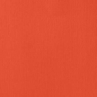 American Crafts Textured Cardstock - Fireberry (12x12)(10 Sheets):