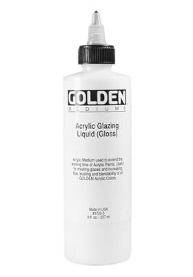Golden Acrylic Medium - Glazing Liquid Gloss (236ml):