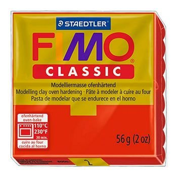 Staedtler Fimo Classic - Red (56g):