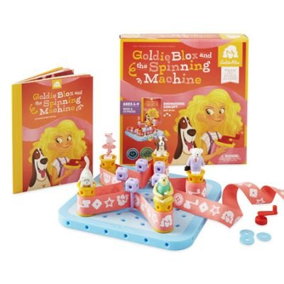 Goldie Blox and the Spinning Machine: