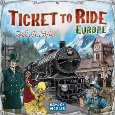 Ticket To Ride - Europe: