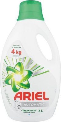 Ariel Automatic Concentrated Washing Liquid (3L):