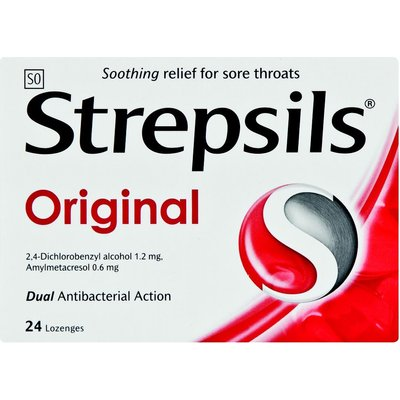 Strepsils Lozenges Original: