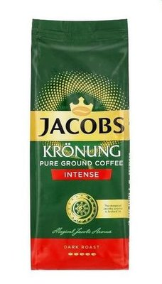 Jacobs Kronung Pure Ground Intense Coffee (250g):