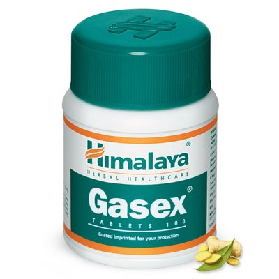Himalaya Gasex Tablets (100 Pack):