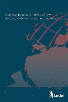Revue Europeenne de Droit de la Consommation / European Journal of Consumer Law (R.E.D.C.) 2012/3 (Paperback): Chloe Binet,...