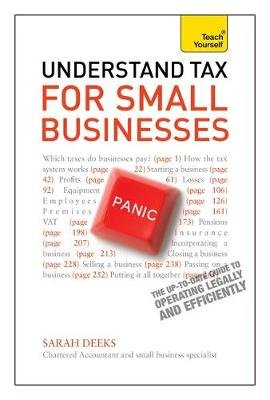 Understand Tax for Small Businesses: Teach Yourself (Paperback): Sarah Deeks