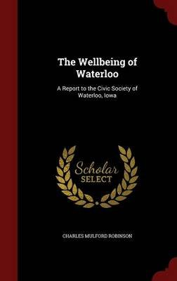 The Wellbeing of Waterloo - A Report to the Civic Society of Waterloo, Iowa (Hardcover): Charles Mulford Robinson