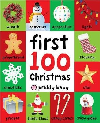 First 100 Christmas Words (Board book): Roger Priddy