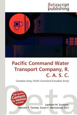 Pacific Command Water Transport Company, R  C  A  S  C