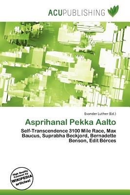 Asprihanal Pekka Aalto (Paperback): Evander Luther