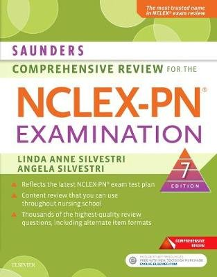 Saunders Comprehensive Review for the NCLEX-PN  Examination (Paperback, 7th Revised edition): Linda Anne Silvestri, Angela...