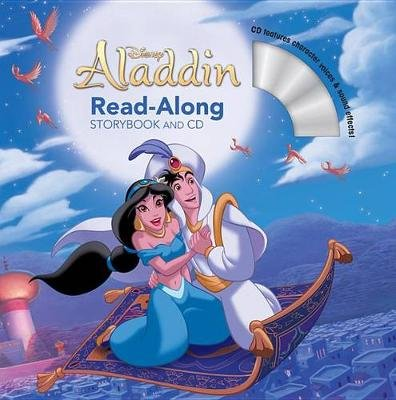 Aladdin Read-Along Storybook and CD (Paperback): Disney Book Group