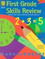First Grade Skills Review (Paperback, Workbook ed.): Brighter Vision