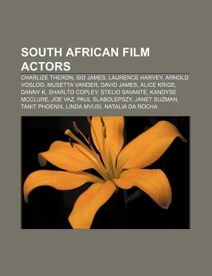 South African Film Actors - Charlize Theron, Sid James, Laurence Harvey, Arnold Vosloo, Musetta Vander, David James, Alice...