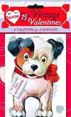 15 Vintage Valentines: A Valentine for Everyone - 15 Die-Cut Cards in Bag with Decorated Envelopes (Cards): Laughing Elephant...